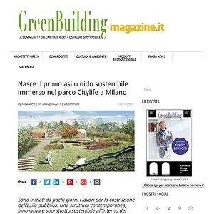 ASILO NIDO INIZIO LAVORI @GREEN BUILDING MAGAZINE